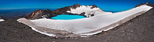 Mt Ruapehu Crater Lake**