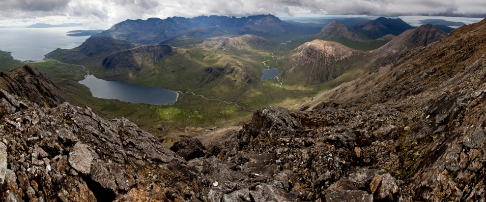 Blabheinn Summit View