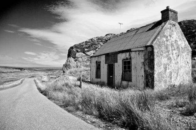 Kinlochbervie; Back road