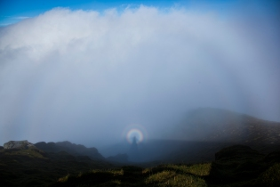 Brocken Spectre & Fog Bow