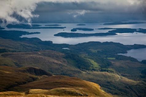 Islands under cloud