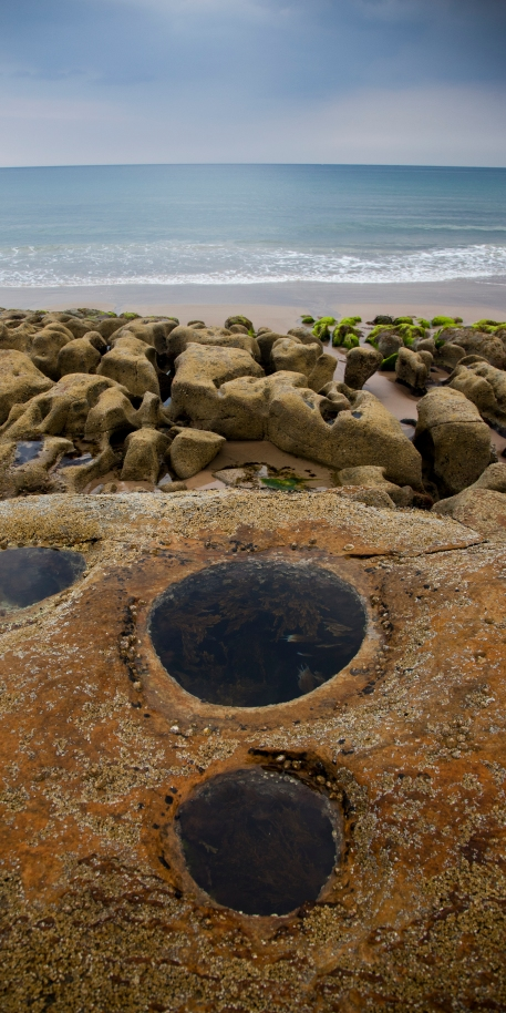 Rockpools to explore