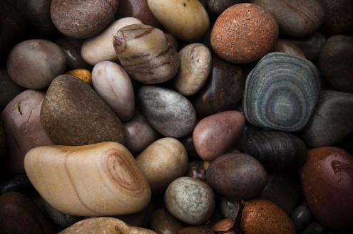 Beautiful pebbles